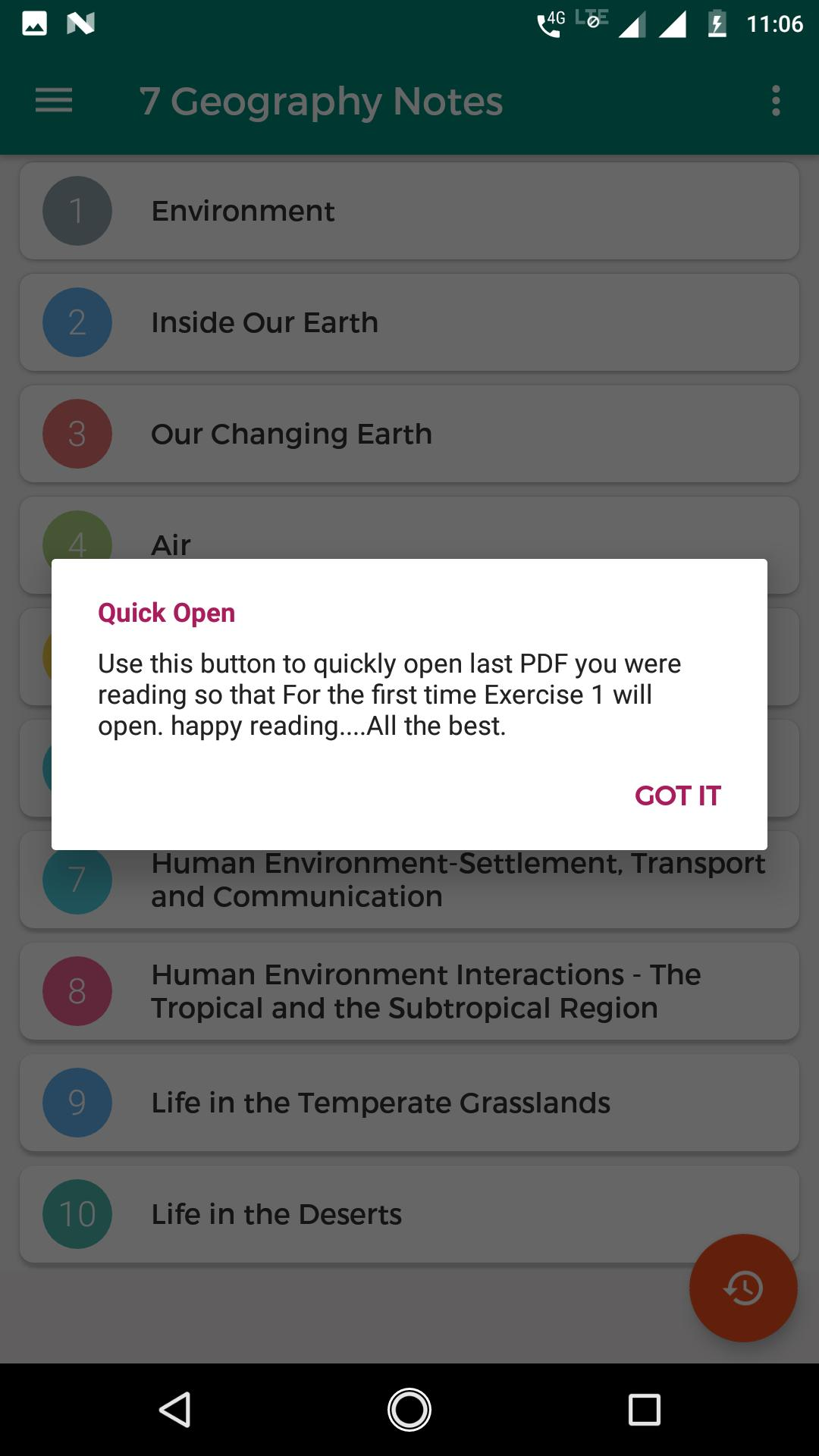 7th NCERT Geography Notes for Android - APK Download