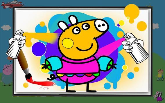 Peepa Pig : Livro para colorir Cartaz ...