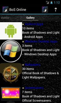 Book of Shadows Online apk screenshot