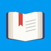 Book reader - ebook app icon