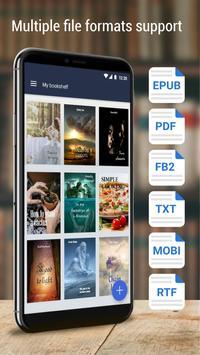 Book reader - ebook app screenshot 13