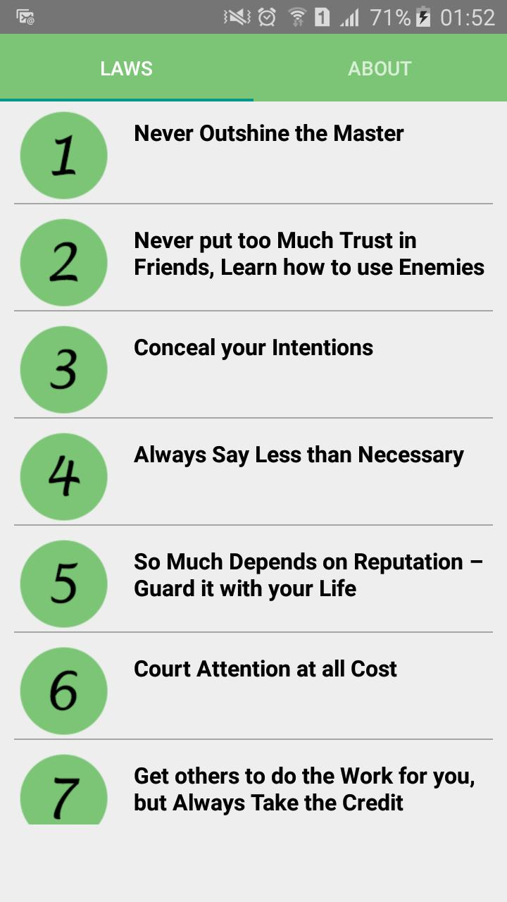 48 Laws Of Power Summary For Android Apk Download