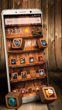 Wooden Touch Launcher poster