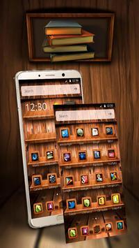 Wooden Touch Launcher screenshot 1