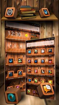 Wooden Touch Launcher screenshot 2