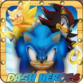💨  Classic Smash of Sonic Jungle & Super Shadow icon