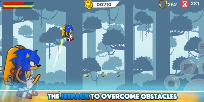 💨  Classic Smash of Sonic Jungle & Super Shadow screenshot 2