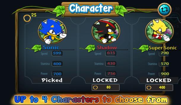 💨  Classic Smash of Sonic Jungle & Super Shadow apk screenshot