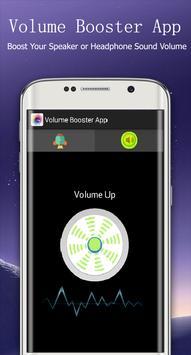 Volume Booster App poster