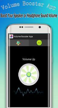 Volume Booster App apk screenshot