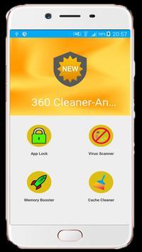 360 Cleaner antivirus poster