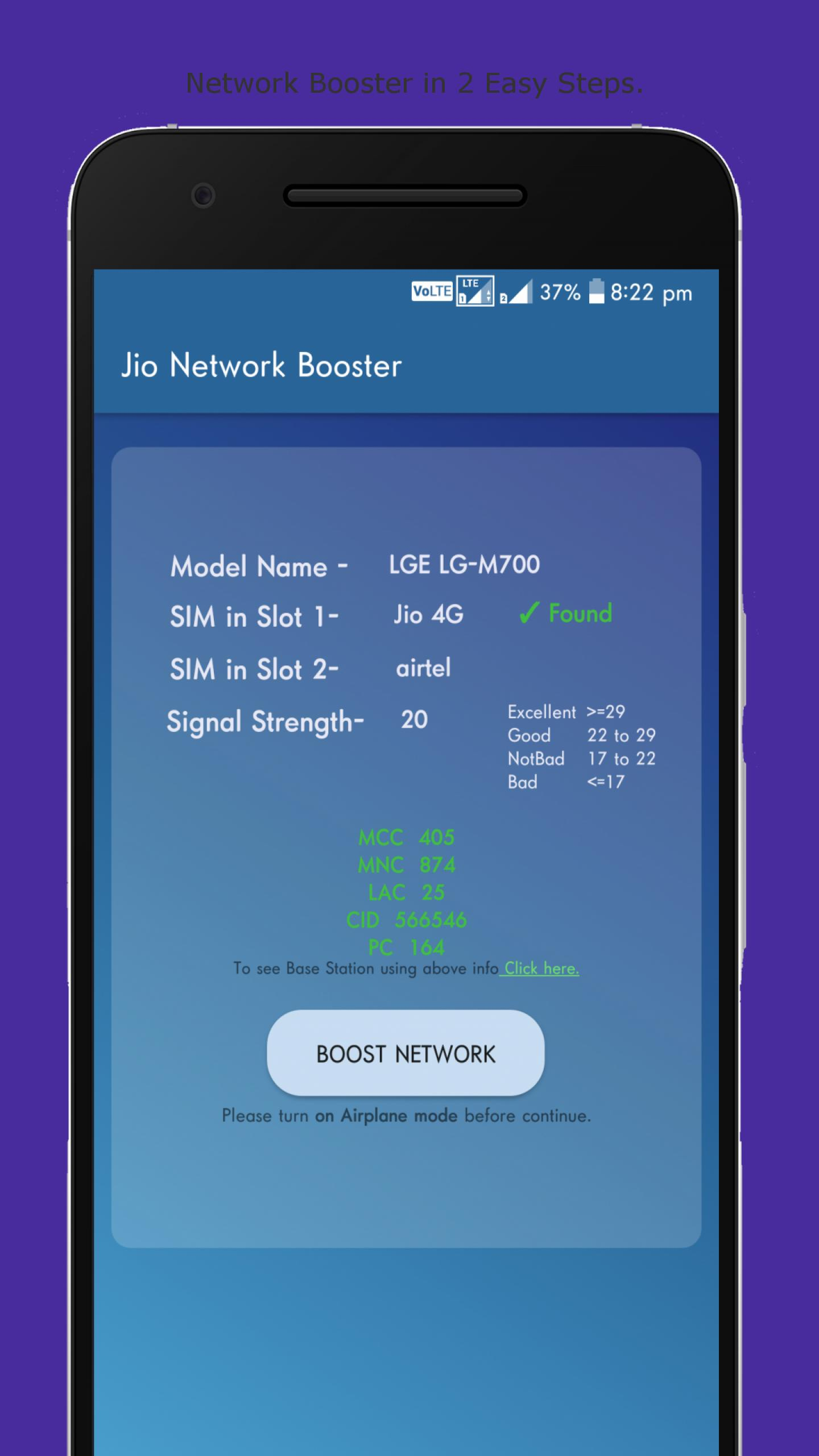 Jio Network Speed Booster Simulated for Android - APK Download