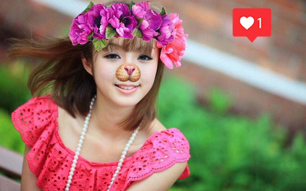Photo Booth Heart Crown Photo Flower Editor 2017 For Android Apk