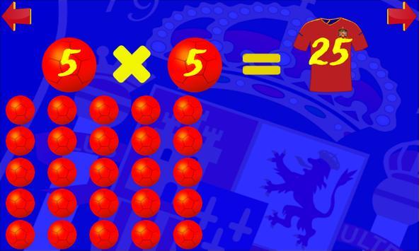 Time Table Spain Grade 4 Lite screenshot 4