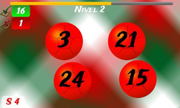 Math Game Mexico 2014 Lite screenshot 4