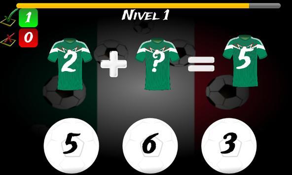 Math Game Mexico 2014 Lite screenshot 5