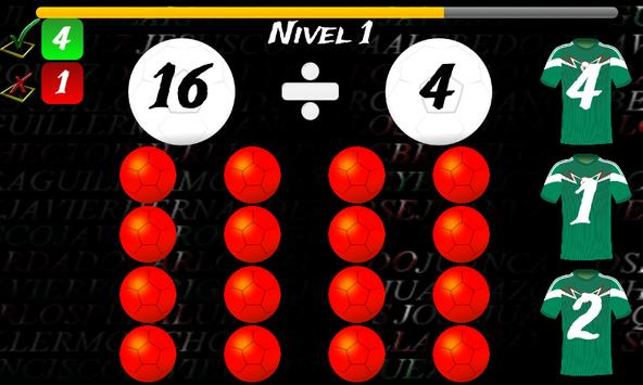 Math Game Mexico 2014 Lite screenshot 3