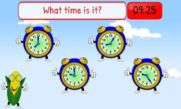 Telling Time Kids 1st Grade screenshot 3