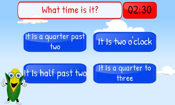 Telling Time Kids 1st Grade screenshot 4