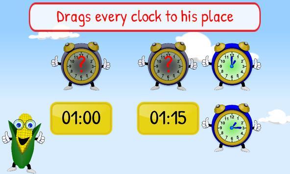 Telling Time Kids 1st Grade screenshot 5