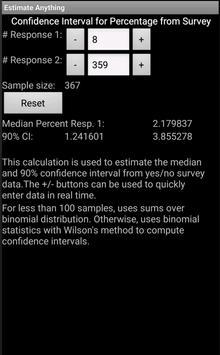 Estimate Anything screenshot 3