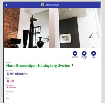 Bostadsbyte Stockholm screenshot 1