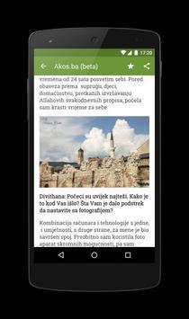 Akos.ba apk screenshot