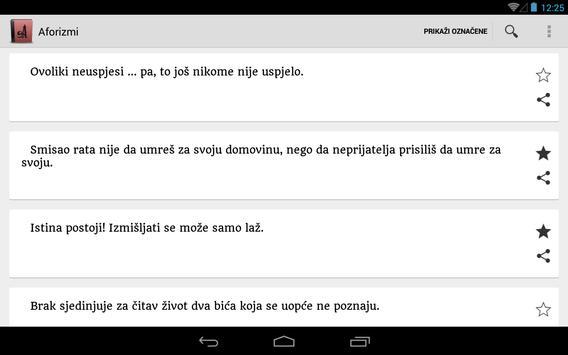 Aforizmi apk screenshot