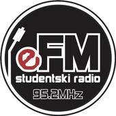 Studentski eFM radio icon