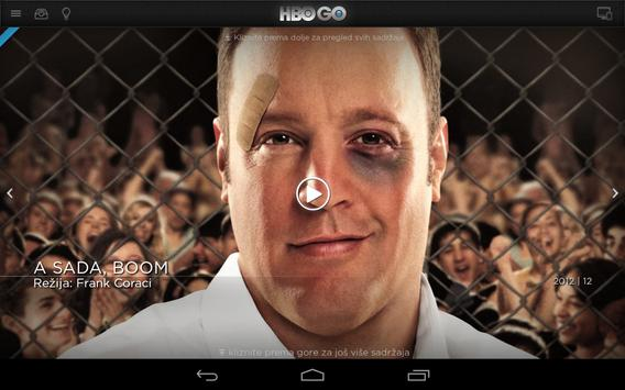 HBO GO Bosnia and Herzegovina apk screenshot