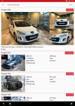 Polovni Automobili BA screenshot 12