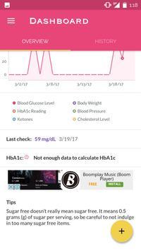 Diabetes Pro - Free apk screenshot