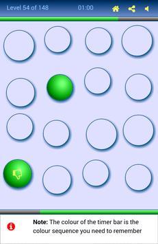 Step No Step Yes (Memory Game) screenshot 1