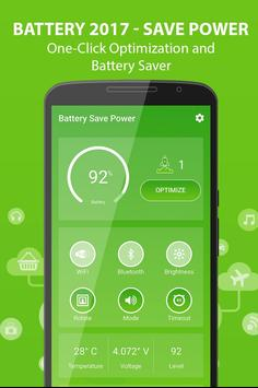 Battery 2017 - Save Power poster