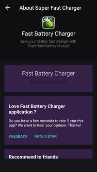 battery Fast Charging & Saving 2018 screenshot 2