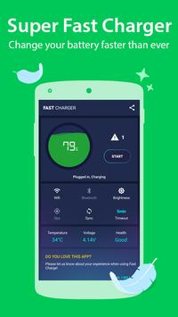 Battery Doctor - Fast Charger 2018 screenshot 1