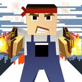 Battle Pixel Shooting Gun 3D ROYAL icon