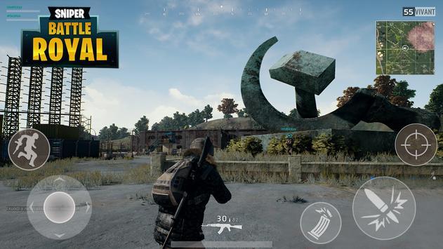 Battle Royal Sniper screenshot 1