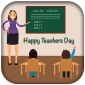 Teachers day wishes in English icon