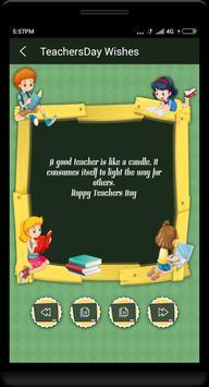 Teachers day wishes in English screenshot 1
