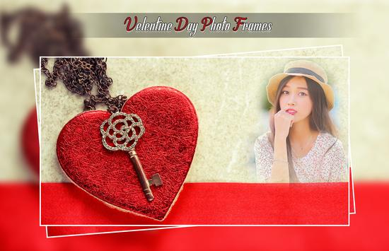 Valentine Day Photo Frames poster