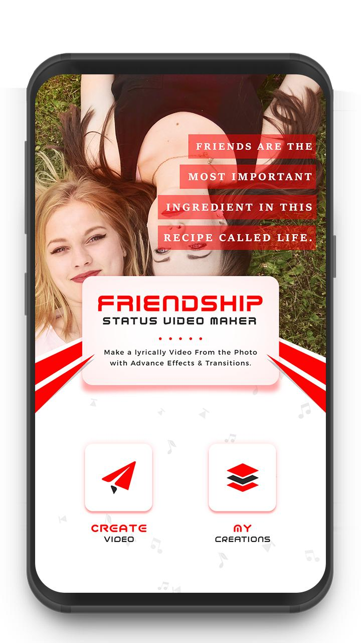My Photo Friendship Lyrical Status Video Maker for Android