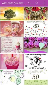 Alles Gute Zum Geburtstag poster