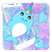 Baby Unicorn Whales Theme icon