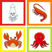 Seafood talking Baby ~ icon