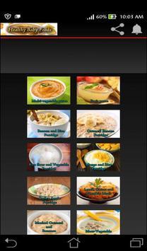 Baby Food - Homemade Recipes screenshot 6