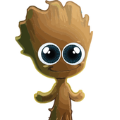 BABY GROOT icon