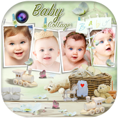 Baby Collage Maker icon
