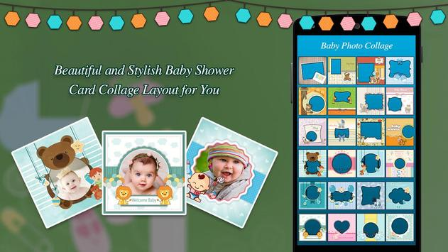 Baby Collage Maker poster
