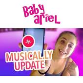 Baby Ariel musical.ly Fan App icon